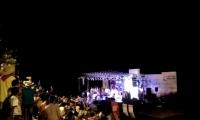 Con el escenario repleto, los fuegos artificiales se encendieron cuando se conoció el nombre de la nueva soberana de la Cumbia.