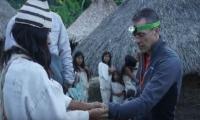 Los montañistas adquirieron este compromiso de cara al Día Internacional de los Pueblos Indígenas.