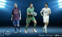 Candidatos a Mejor Jugador de la UEFA