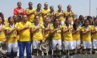 Selección Colombia femenina sub 20, campeona en Trujillo 2013