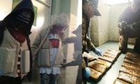 Las colombianas tenían la droga, tipo 'creepy', divididas en panelas y adheridas a sus cuerpos.