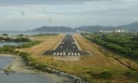 Pista del Aeropuerto de Santa Marta.