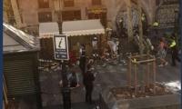 El atropellamiento fue masivo en las Ramblas de Barcelona.
