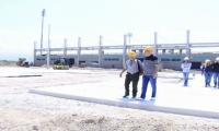 Inspección de trabajos en Ciénaga