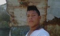 Damián Altahona, de 21 años, murió en enfrentamientos con la Policía.