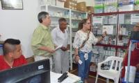 La superintendente delegada hizo la visita por los hospitales en persona.