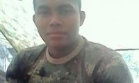 Luis David Caro Jiménez, de 22 años de edad.