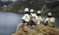 Los arhuacos, una de las cuatro etnias de la Sierra Nevada de Santa Marta.