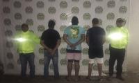 Capturados de la banda Los Pachencos