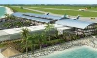 Imagen de render del Aeropuerto de Santa Marta.