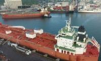 Un total de 22,250 toneladas fueron cargadas en los dos buques en 100 horas de operación.