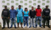 Miembros de la banda 'Los Belén', capturados en El Banco