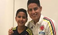Martín Elías Jr. y James, en Barranquilla