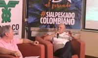 """En el marco del Congreso Nacional de Comerciante en Santa Marta fue hecho el lanzamiento de la campaña """"Sí al pescado colombiano""""."""
