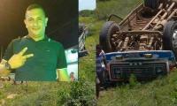 Heider Navarro, conductor fallecido.