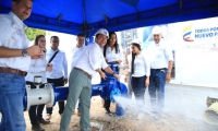 Entrega de acueductos en La Guajira