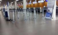 Seguimiento.co recorrió la terminal aérea y comprobó que está totalmente vacía.