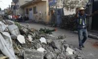 Aún no se reportan daños por el último sismo.