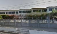 Frente del Colegio Divino Niño, donde ocurrió el hecho.