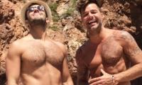 Ricky Martin y su pareja Jwan Yosef.