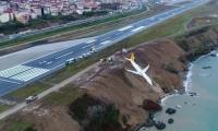 Fotografía del avión accidentado en Turquía. No se reportaron heridos entre los 162 pasajeros y 6 tripulantes.