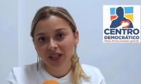 Beatriz Polo, candidata a la Cámara de Representantes por el Magdalena.