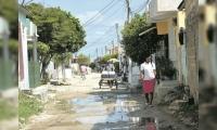 Calle donde ocurrió el asesinato.