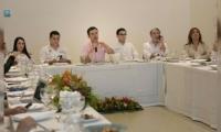 Reunión convocada por el Ministerio del Interior.