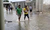 Recientemente una pequeña 'onda tsunami' afectó enormemente a los pobladores de la costa en zona de la Ciénaga.