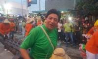 Fabián Castillo, representante a la Cámara y candidato.