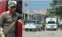 Eduardo Albor Maldonado, escolta muerto durante un intento de atraco de delincuentes a carro repartidor de pollo.