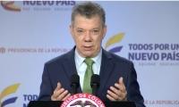 presidente Juan Manuel Santos.