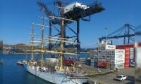 El buque Sorlandet fue construido en 1927 y estará en Santa Marta por 6 días.