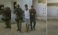 El capturado, Jesús Alberto Ochoa Rangel.