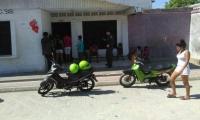 Casa donde residía el policía magdalenense que murió en Barranquilla.