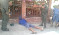 Cuerpo hallado en el sector de la Avenida del Ferrocarril con Avenida de Los Estudiantes.
