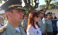 Las autoridades del departamento despidieron al joven patrullero que murió a los 24 años.