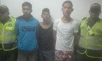 Algunos miembros de 'Los Venecos'.