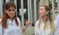 La gobernadora Rosa Cotes se encuentra bastante afectada por el caso de la niña Génesis.