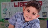 El niño fue secuestrado por desconocidos el pasado 3 de octubre.