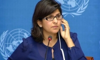 Ravina Shamdasani, portavoz de la Agencia de la ONU para los Refugiados.