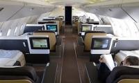 Primera clase de aviones Lufthansa