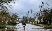 Los destrozos del huracán Michael en el noroeste de Florida.