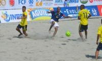 Colombia sub 20 ganó en su debut en la Liga Sudamericana de Fútbol Playa.