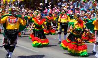Durante esta fiesta, la ciudad se viste de  folclor y alegría.