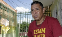 El exfutbolista Iván René Valenciano.