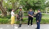 El Gaula Militar rescató a los dos secuestrados.