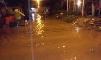 35 barrios afectados por las inundaciones.