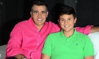 Carlos Calero y su hijo 'Carlitos'.