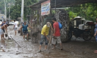 3 personas han resultado lesionadas por las lluvias de los últimos días.